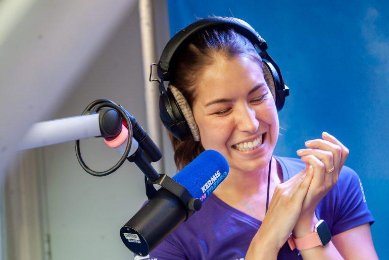 Amber lachend Kermis FM 2018
