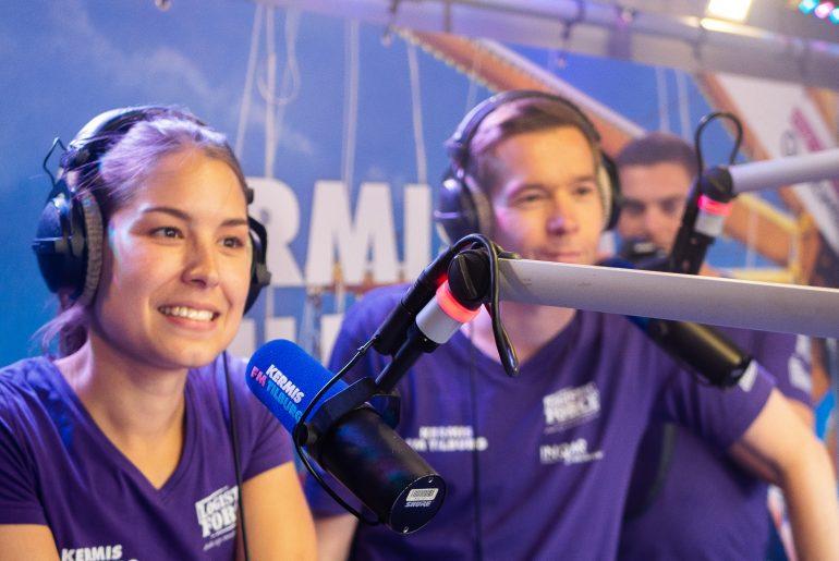 Arno en Amber tijdens Kermis FM 2018