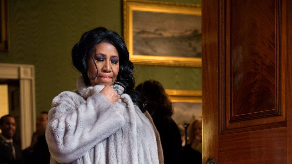 Aretha Franklin (Pete Souza), Wikipedia.com White House 2015, Pete Souza