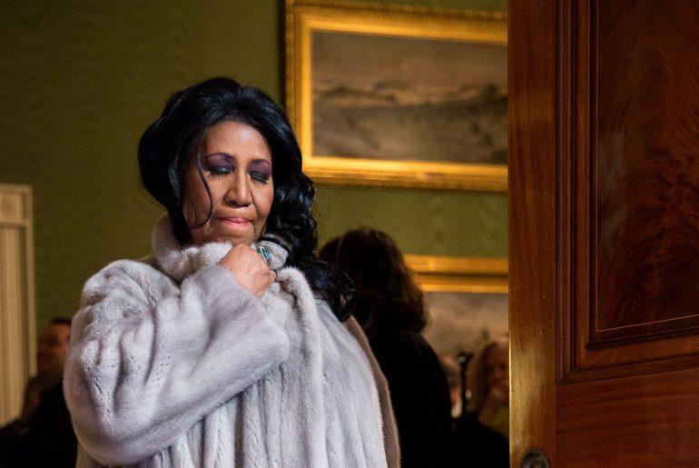 Aretha Franklin (Pete Souza), Wikipedia.com White House 2015, Pete Souza
