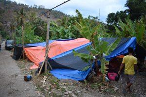 aardbeving lombok en gili-eilanden tenten