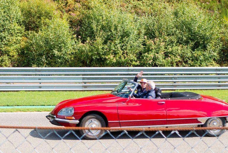 Drivers parade: Max Verstappen