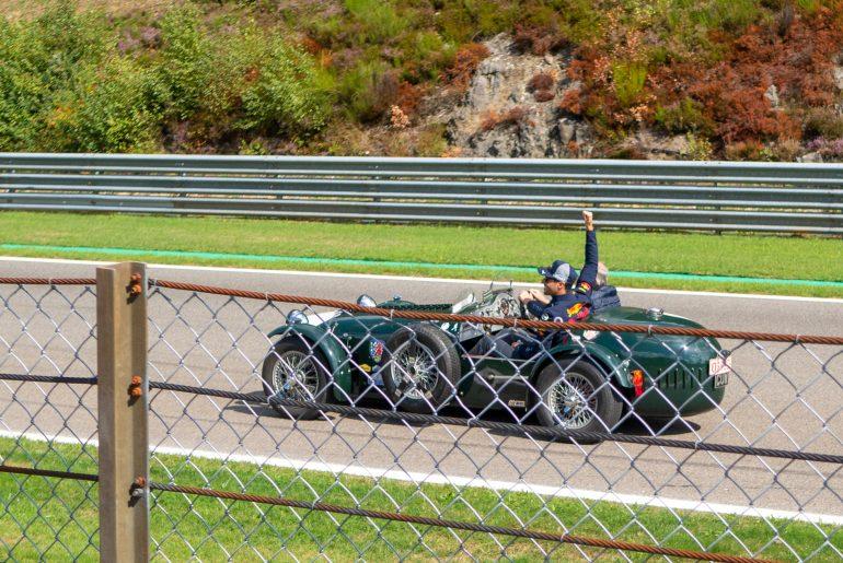 Drivers parade: Daniel Ricciardo