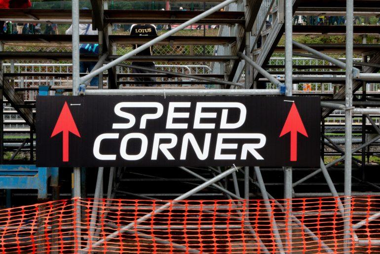Speed corner