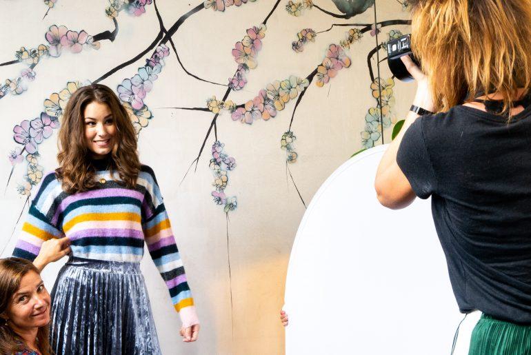 Fotoshoot Flair 8 augustus 2018 met Hanna, Marloes en Amber