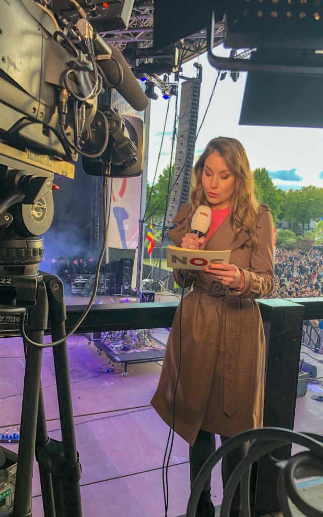 Achter de schermen met Amber Brantsen op het bevrijdingsfestival in Zwolle